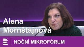 Alena Mornštajnová: Jaké to je psát svoji prvotinu jedenáct let a nezbláznit se u toho?