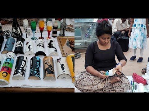 Live painting|| Art Painting|| pach forong||Kolkata Simpark|| New Market Dharmatala||