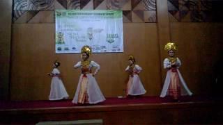 Tari Kreasi Pembubung Riau (Geosac 2015 Pendidikan geografi UPI)