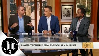Why mental health is such a difficult issue for the NBA | The Jump | ESPN