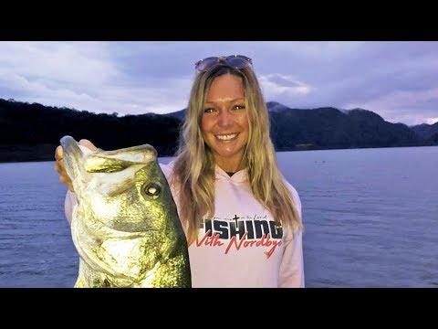 Mexico Bass Fishing Lake Comedero! (HUGE BASS)