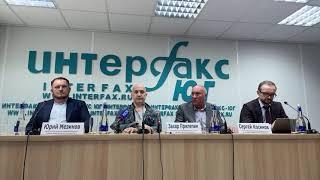 Пресс-конференция Захара Прилепина в Ростове-на-Дону