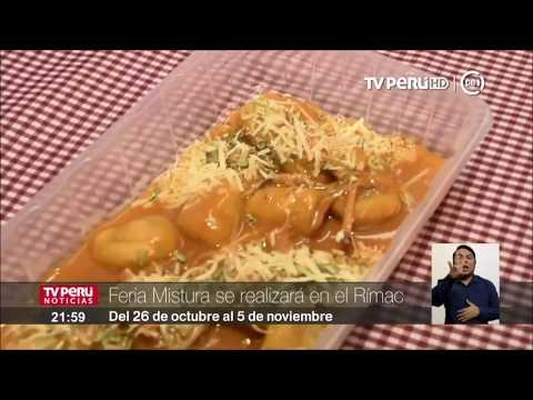Feria gastronómica Mistura se realizará en el Rímac
