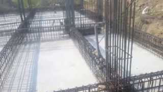 Raft  Foundation Construction Method