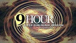 Relief from Anxiety & Panic Attacks - (9 Hour) Sleep Subliminal Session - By Thomas Hall