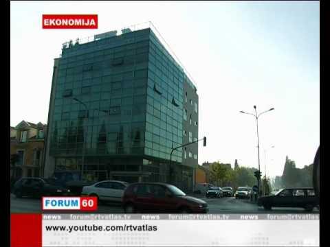Velibor Milošević, viceguverner centralne banka crne gore (CBCG), Atlas TV