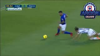 Todos los goles y asistencias de Edgar Mendez con Cruz Azul.