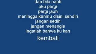 Lirik Kiss the rain versi Indonesia