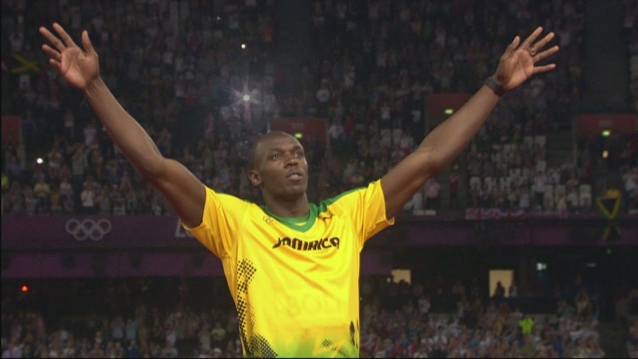Usain Bolt Collects Mens 200m Gold Medal