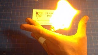 "How to Make: ""Pyro"" Fire Ring"