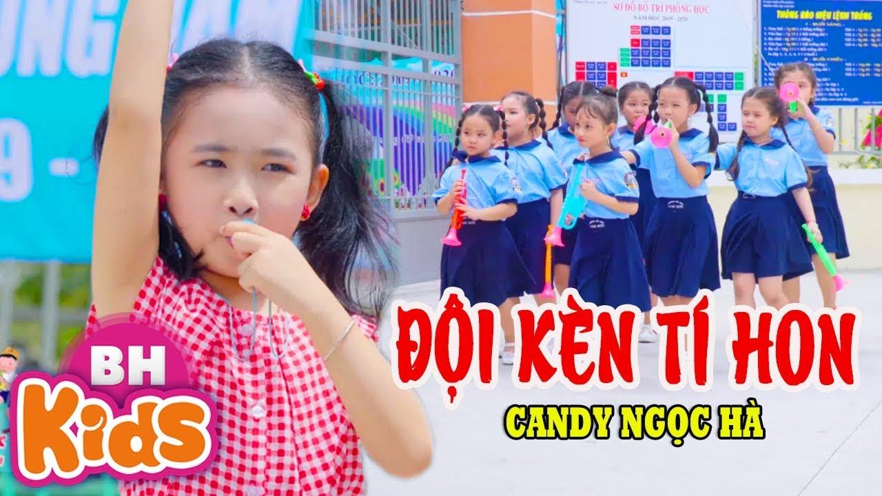 Đội Kèn Tí Hon [4K] ♫ Candy Ngọc Hà | Nhạc Thiếu Nhi Vui Nhộn ♫ Te tò te đây ban kèn hơi