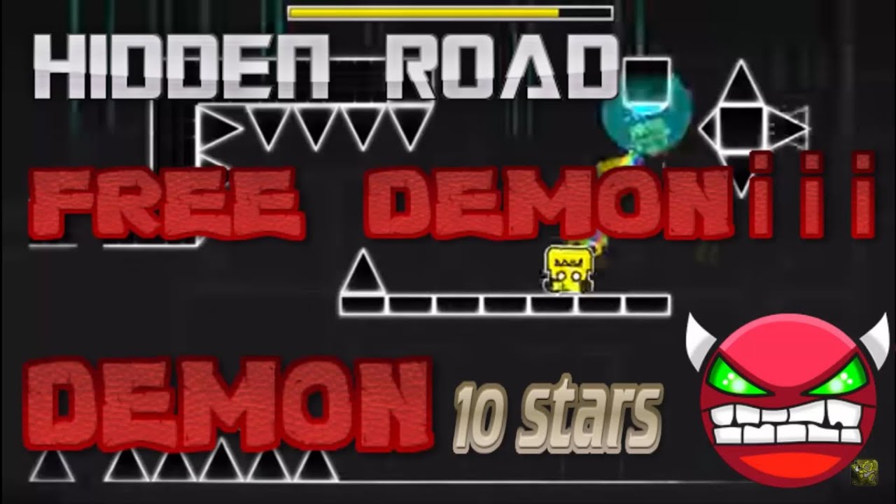 Geometry dash demons secret way