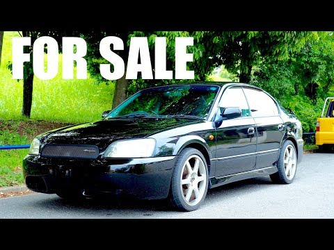FOR SALE – 2002 Subaru Legacy 5-speed Twin Turbo BLITZEN LIMITED MODEL