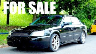 FOR SALE - 2002 Subaru Legacy 5-speed Twin Turbo BLITZEN LIMITED MODEL