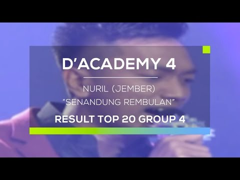 Nuril, Jember - Senandung Rembulan (D'Academy 4 Top 20 Result Group 4)