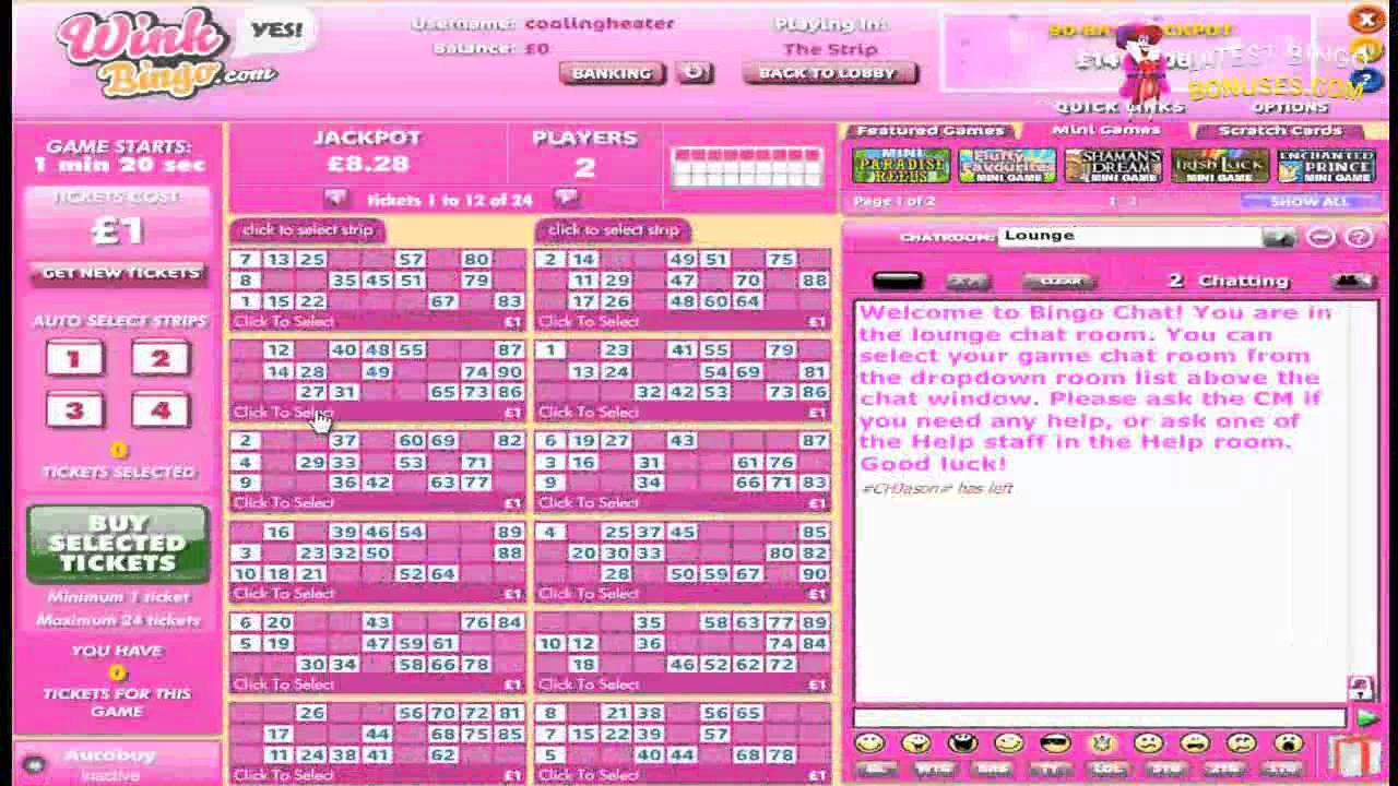 Wink Bingo Unsubscribe