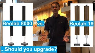beolab 8000 vs 18 - Should YOU upgrade your B&O speakers?