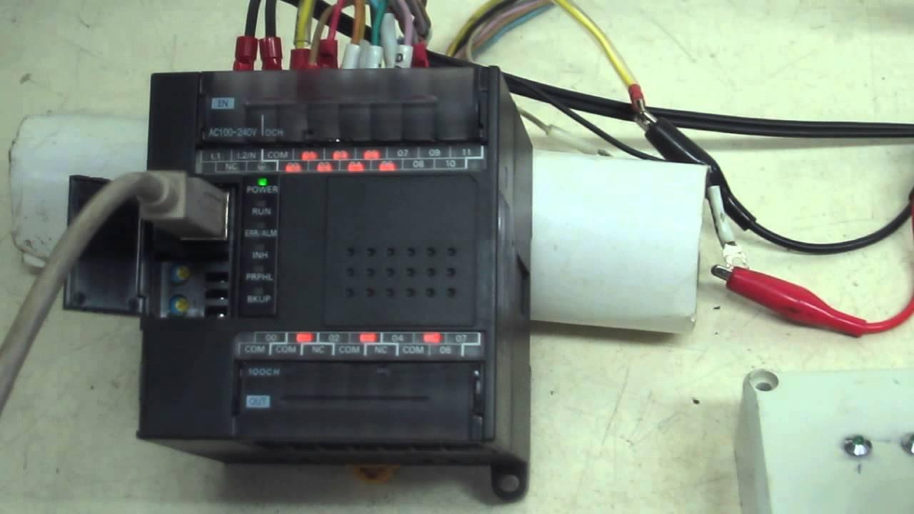 Omron cp1e e20dr a programmable controller cp series the cp1e cpu unit