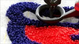 Chain Stitch/Chenille Embroidery
