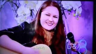 Tania Brou entrevista TV AZTEKA en Dalila y Arturo Show