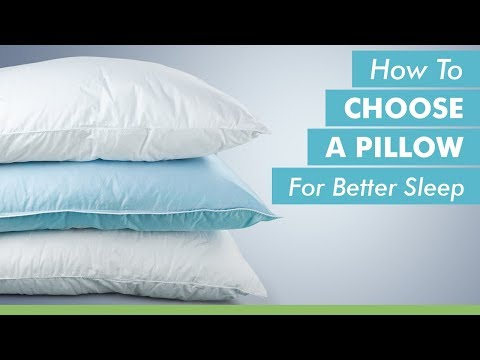 The Best Pillow Might be The Way To Go to higher Sleep