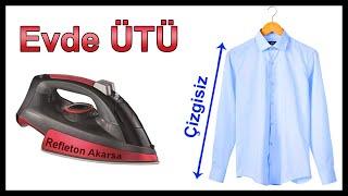 Gömlek Nasıl Ütülenir  (Detaylı Anlatım ) Gömlek Ütüleme . How to Iron a Shirt.
