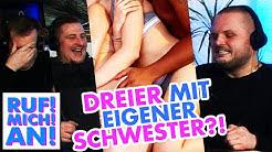 Moritz (18) hat verbotenen Dreier mit seiner Schwester | RUF! MICH! AN!