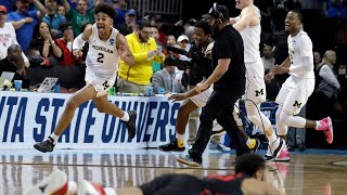 MICHIGAN GAME WINNING BUZZER BEATER VS HOUSTON (2018)