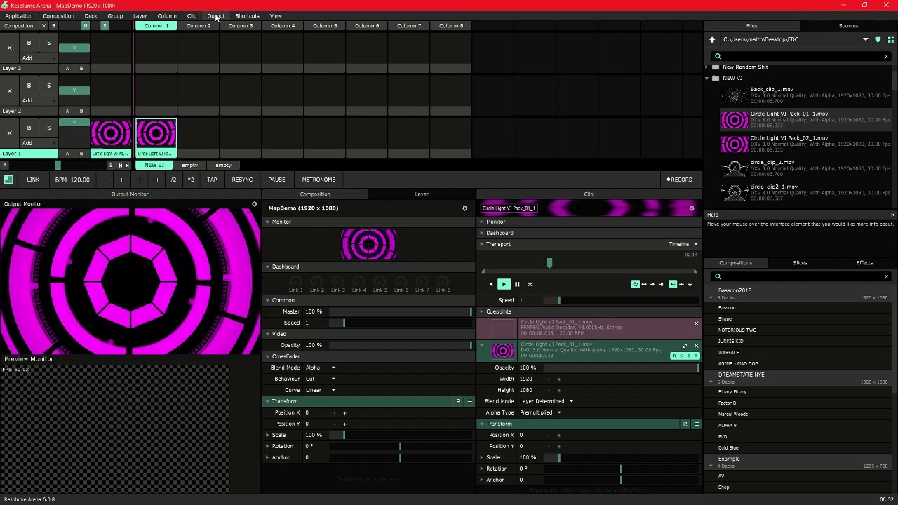 Resolume 6 mapping | Resolume Arena 6 1 0 incl Crack Full Version