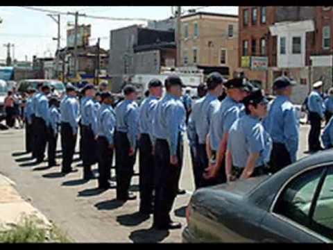 Tribute to Philadelphia Police Officer Gary Skersk...