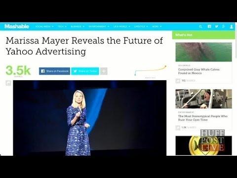 Marissa Mayer Reveals Future of Yahoo Advertising