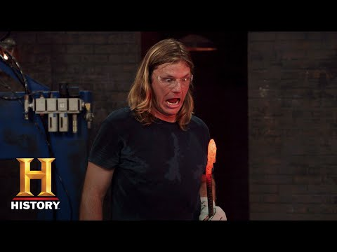 Forged In Fire: Forging A Knife Out Of A Pistol (Season 5, Episode 3) | History