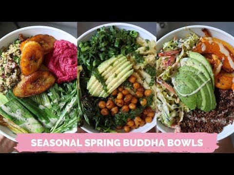 Spring BUDDHA BOWLS // Easy + delicious
