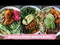 Spring BUDDHA BOWLS // Easy + delicious