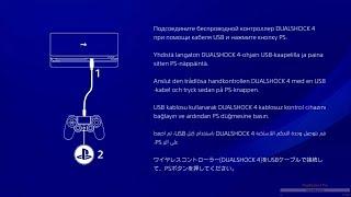 playStation 4 Slim ОБЗОР настроек, интерфейса И немного игр Last of Us, God of war 3, Uncharted 4
