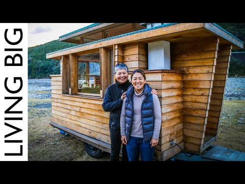 Breathtakingly Beautiful Japanese Tiny House on Wheels
