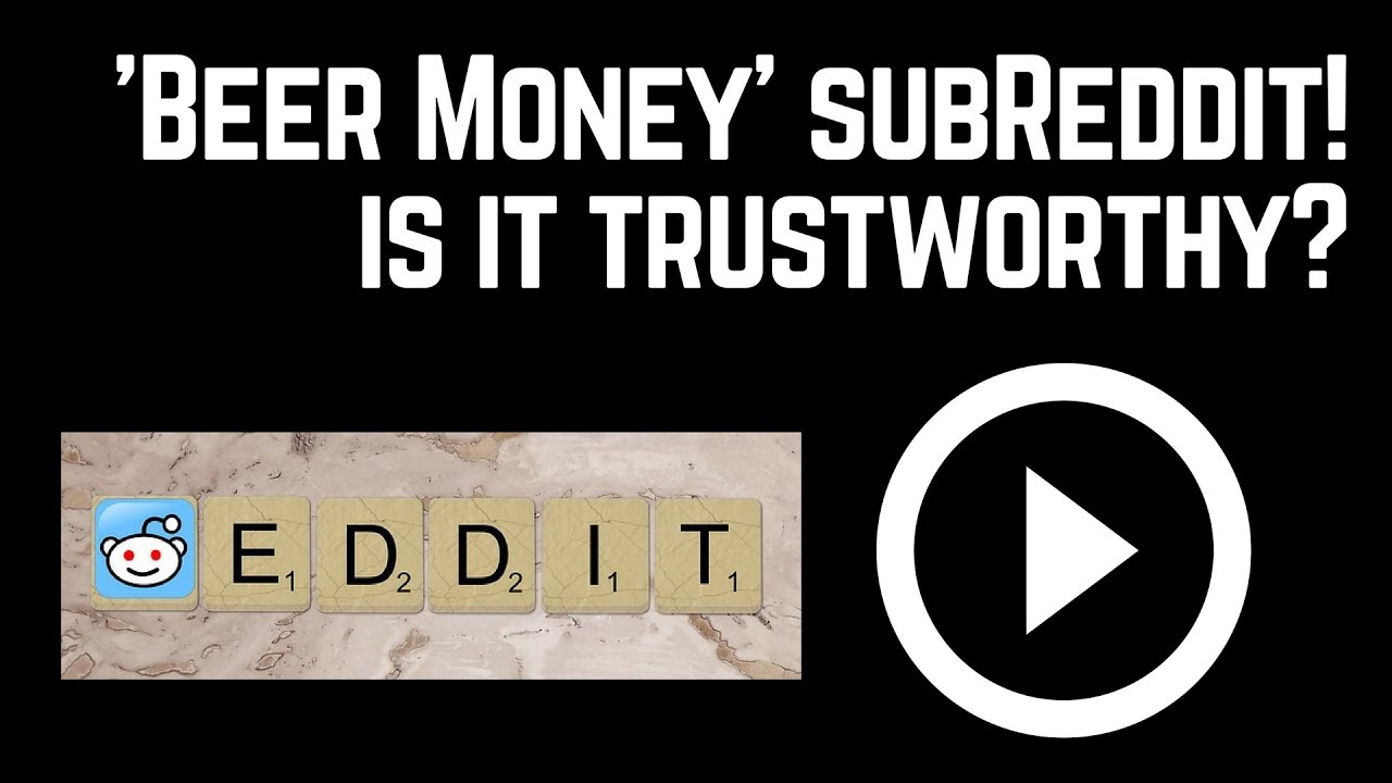 Should You Bother With Reddit 'Beermoney' Sub? - I Poop Cash