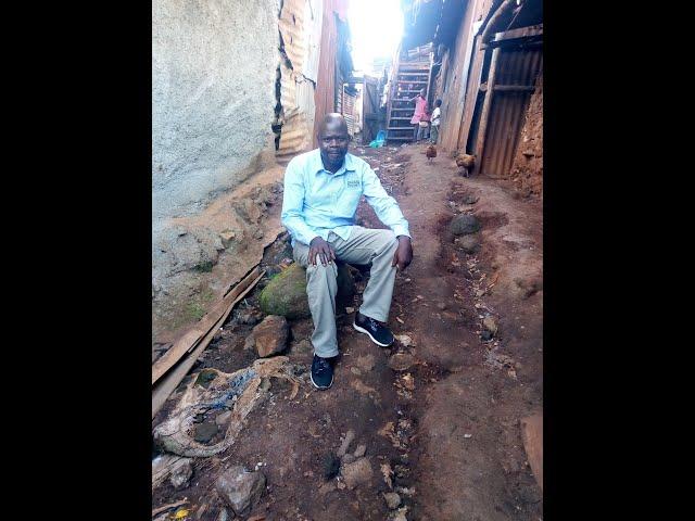 Joseph Otieno Greeting GMFC WFF Kibera Slum