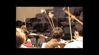 Symphonie 4,  1er mvt,  J. Brahms, Nicolas André direction, orchestre CNSMD Lyon