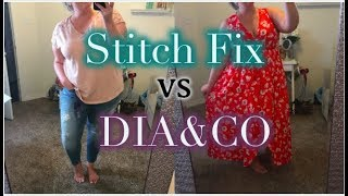 STITCH VS. DIA&CO | WHAT HAPPENS WHEN I REQUEST THE SAME THING | Taren Denise