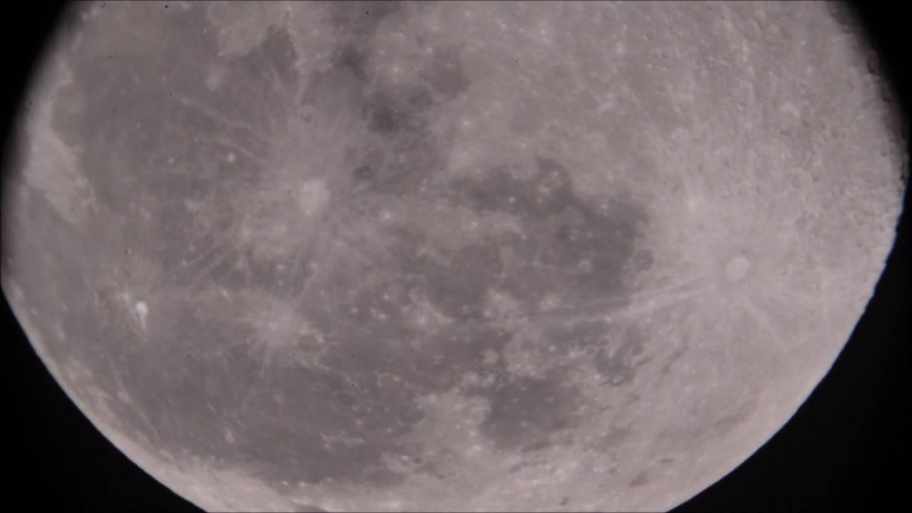 [Wonder of the sky] Beautiful Moon using Afocal, Televue Powermate 2.5x and 5x (20-Aug-2016)