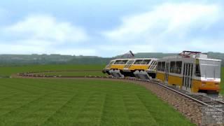 OpenBve metró,vonat,villamos,hév és R142A káosz