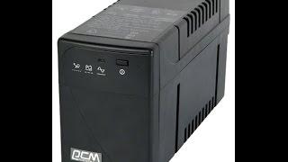 Замена аккумуляторной батареи в бесперебойнике(Источник бесперебойного питания Powercom BNT-600AP с автоматическим регулированием напряжения AVR (функции Boost/buck)...., 2015-04-08T07:53:59.000Z)
