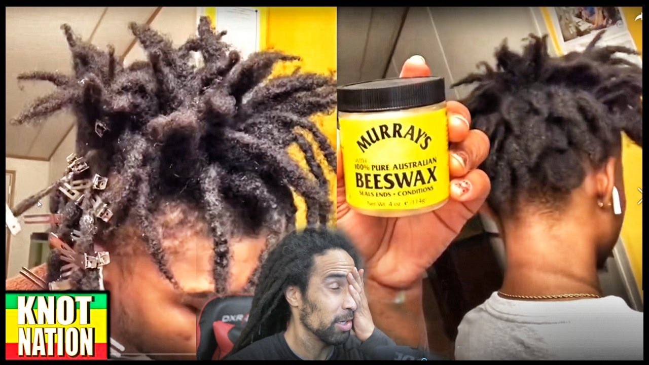Reacting To Freeform Dreads Retwist With Beeswax Youtube