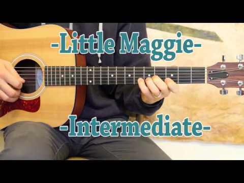 Little Maggie - Guitar Lesson - G Minor Pentatonic