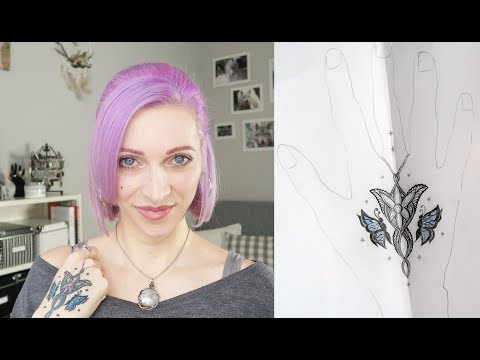 Designing My Tattoo || Evenstar Tattoo || DIY The Lord Of The Rings Tattoo