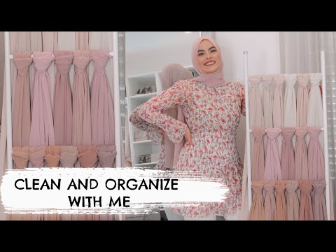 How I Organize + Clean My Hijabs *Very Easy* - YouTube