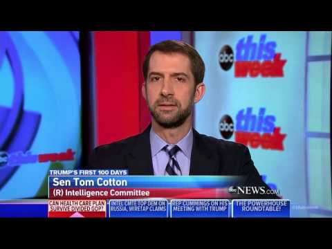 March 12, 2017: Sen. Cotton joins This Week with George Stephanopoulos