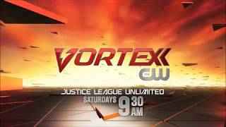 Vortexx auf Dem CW-2012 Action-Whacked samstags Promo Justice League Unlimited