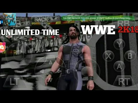 GLOUD GAMES HACK APK UNLIMITED TIME GAMES PLAY WWE 2K18 AND OTHER GAMES